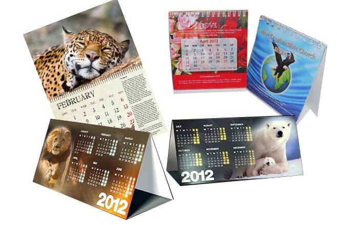 Custom Calendars Printing